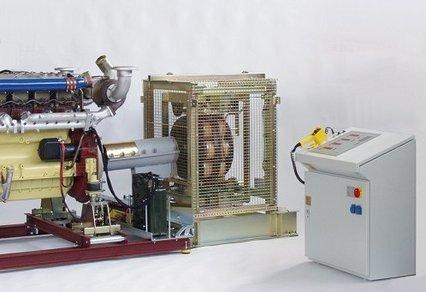 Modular test bed system for truck engines - null
