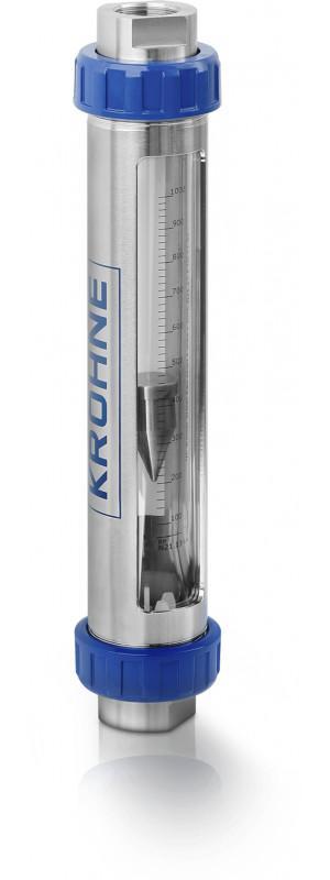 VA40 - Caudalímetro para gas y líquidos / de área variable / con tubo de vidrio
