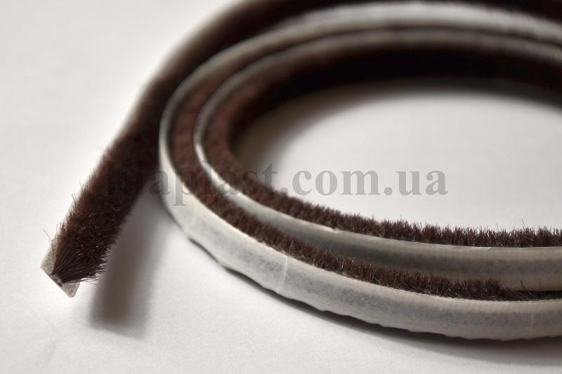 Pile Weatherstrip - Pile Weatherstrip, dustproof and buffer brush - 4,8x4-3Р with glue