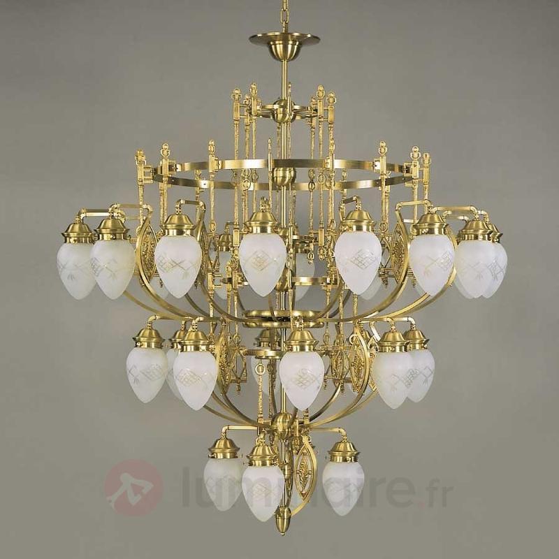 Lustre Budapest 28 lampes - Lustres classiques,antiques