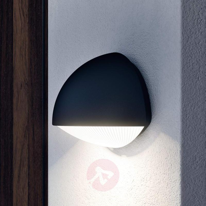Dust wall light with LEDs for outdoors - outdoor-led-lights