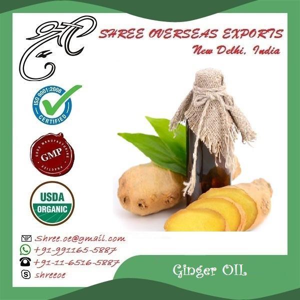 Organic Ginger Oil - USDA Organic
