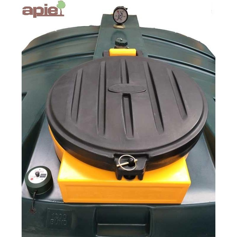 Cuve pour huiles usagées 645 L - Référence : ORB650