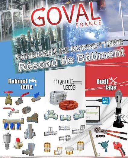 Robinetterie industrielle/Bâtiment