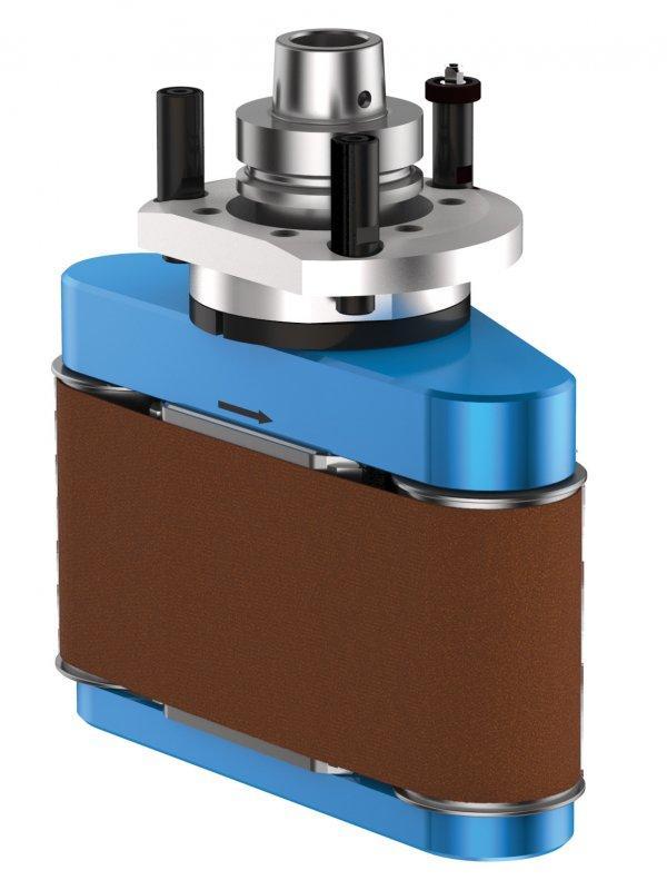 Bandschleifaggregat COLLEVO - CNC Aggregat zur Bearbeitung von Holz, Verbundwerkstoff und Aluminium
