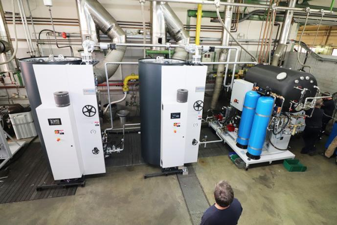 Complete steam plant - Steam Boiler -