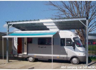 Abri camping car  - Métallique