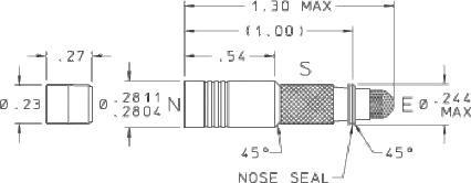 281 Screened Spring Biased Shuttle Valve - null