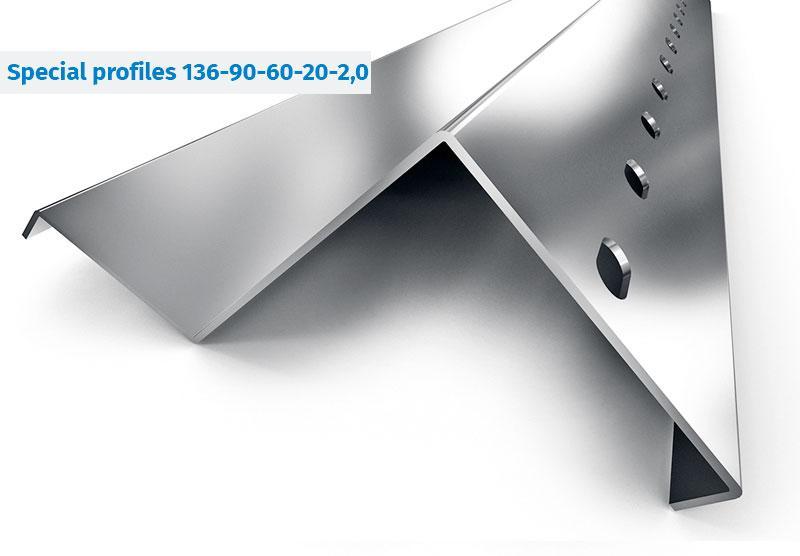 Stahlprofile für Regalsysteme, Industrieregale - Halbgeschlossener Stahlprofile für Palettenregale, Fachbodenregale,