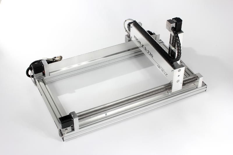 CNC Portalfräse S-720 / CNC Graviermaschine  - CNC Maschine zum 2D und 3D Fräsen ...