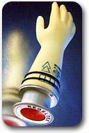 Vérificateur pneumatique pour gants