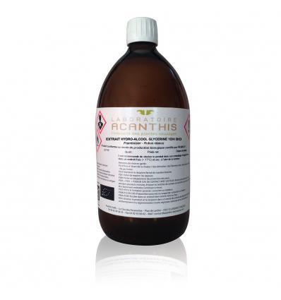 GLYCÉRINÉ 1DH DE FRAMBOISIER BIO - Extraits hydro-alcooliques glycérinés alimentaires