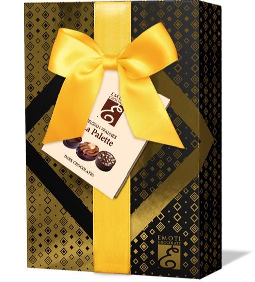 EMOTI Dark Chocolates, Gift packed, 120g. SKU: 016238y -