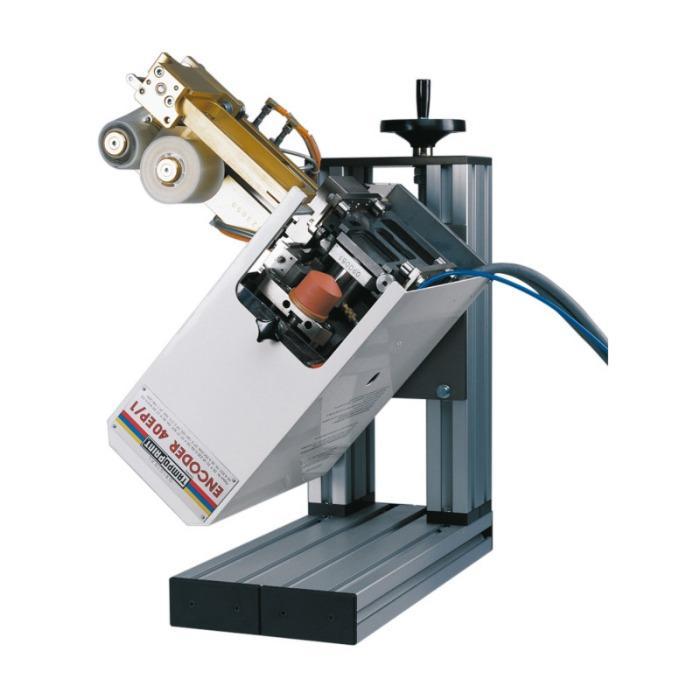 ENCODER Serie de máquinas de tampografíae - Máquina de tampografía para las posiciones de impresión más difíciles.