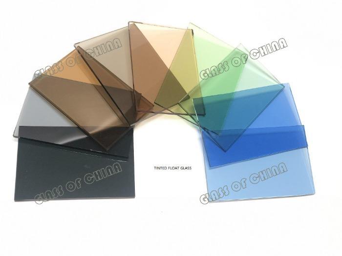 4-6mm Dark Blue Reflective Float Glass - 4-6mm Dark Blue Reflective Float Glass