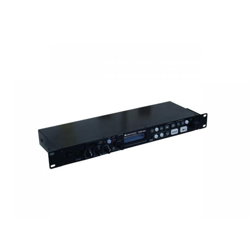 DJ SD/USB-Player - Omnitronic DMP-102 USB/SD-Card-Player