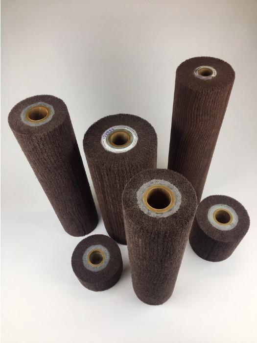 Лепестковые круги из нетканого шлифовального материала - Лепестковые круги, валы и головки разных конструкций и типоразмеров