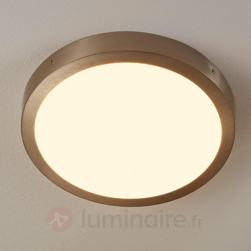 Plafonnier à lumière claire Milea à LED - Plafonniers LED