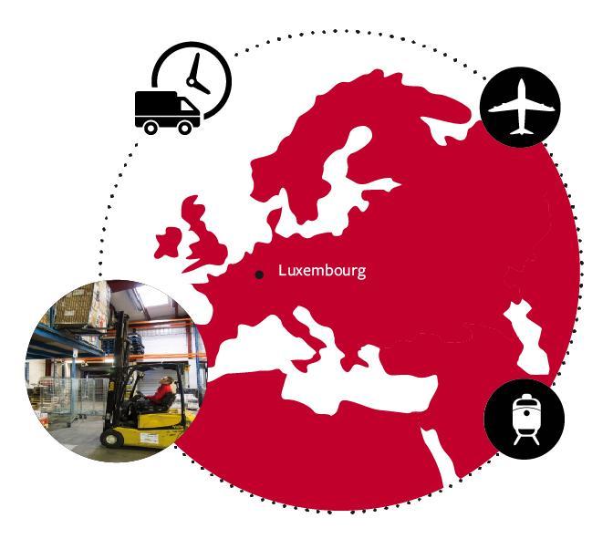 Logistic - Services - LUXEMBOURG, UNE BASE OPÉRATIONNELLE IDÉALE POUR DES SOLUTIONS LOGISTIQUES...