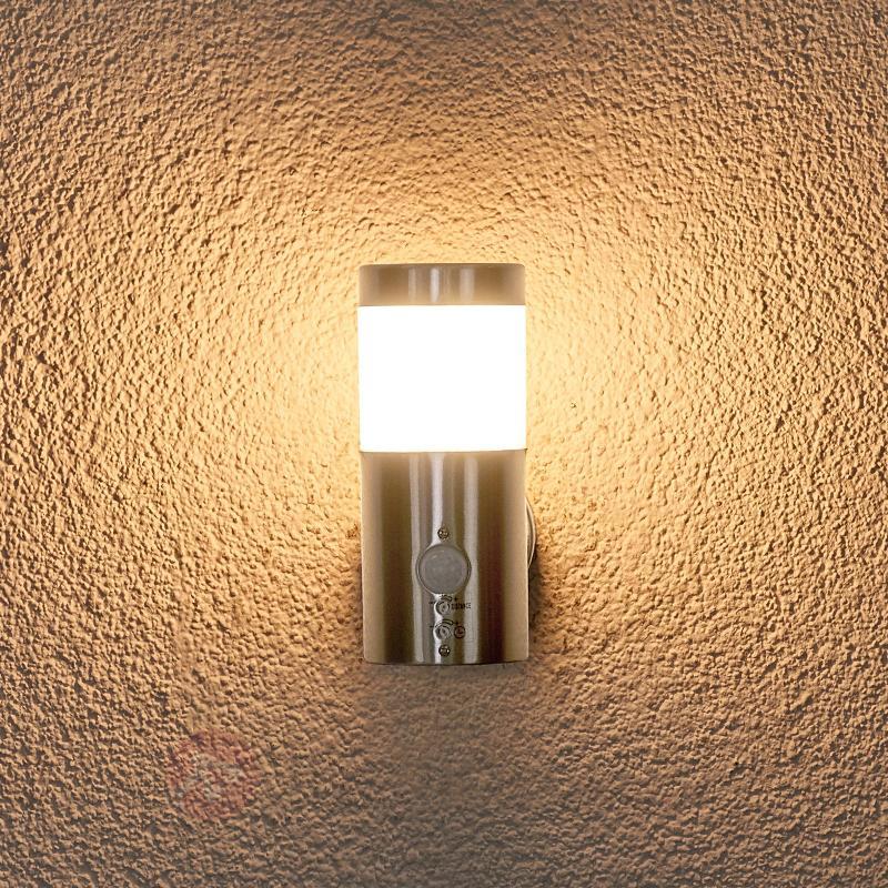 Applique ext. avc détecteur de mvnt LED Belina - Appliques d'extérieur avec détecteur