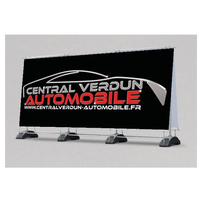 Banner extérieur double face - Pop up et stand publicitaire