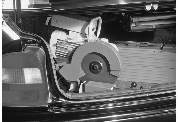 Tronçonneuse transportable manuelle - KMS MINI