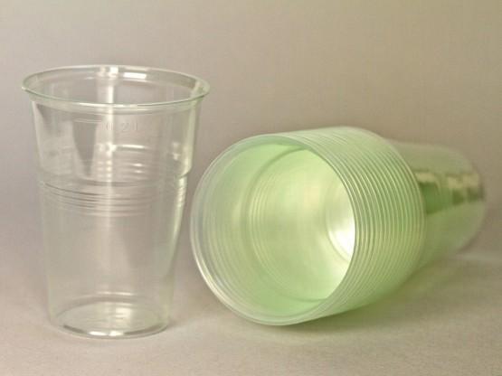 "Пластиковый одноразовый стакан ""Стандарт"", 200 мл,  - 100 шт/уп"