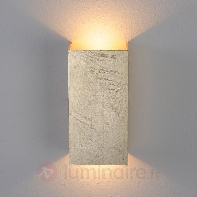 Applique LED Mira aspect doré antique - Appliques LED