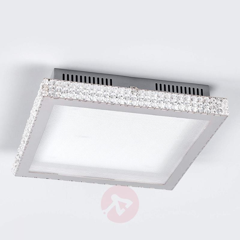 Marlit - LED ceiling light with glass crystals - indoor-lighting