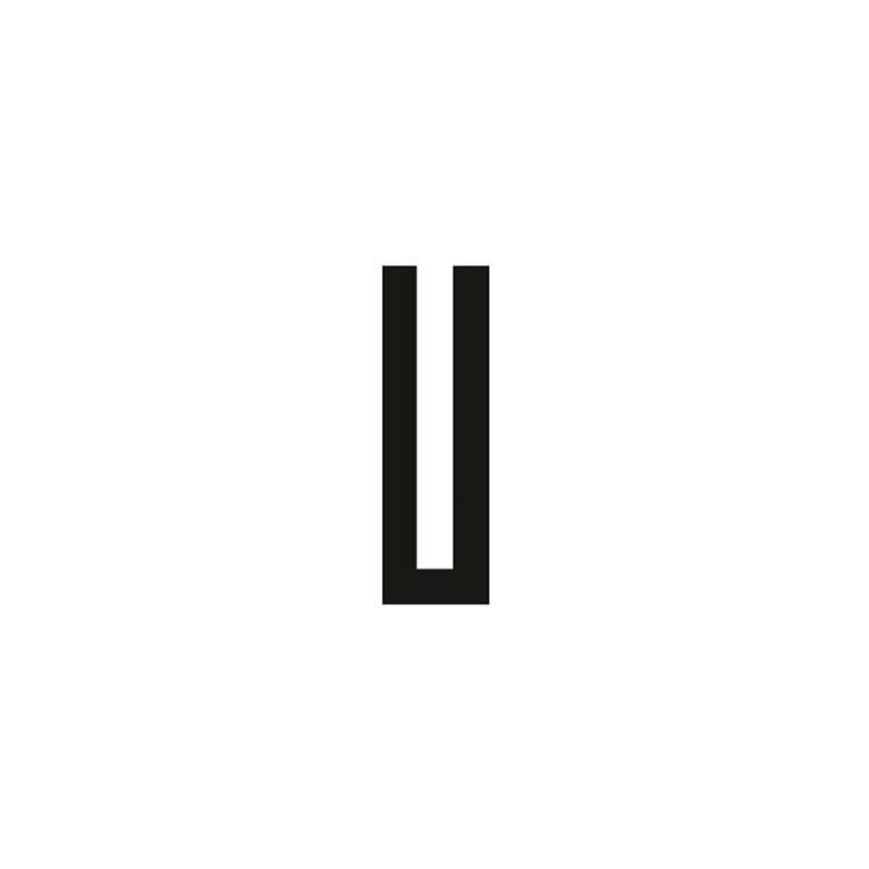 Vollgummi U-Profil 1mm / BxH=3x9mm - Gummiprofile