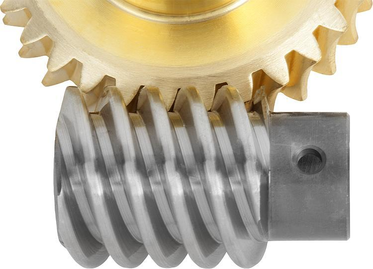 Worm gears, right-hand centre distance 17 mm - Worm screws and worm wheels