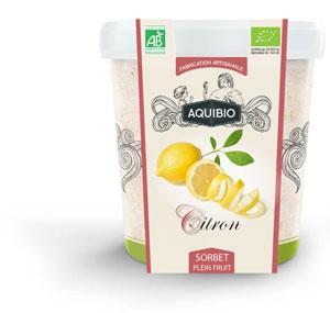 Sorbet BIO Citron - Glaces biologiques