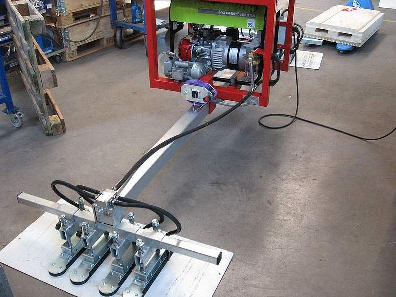 Vacuum lifting device with power unit - null