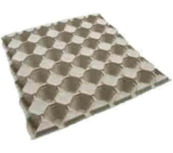 Emballage d oeufs en fibre moulée CDL