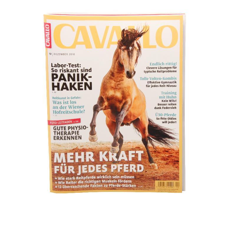 Cavallo Dezember 2016 - Bücher und Zeitschriften