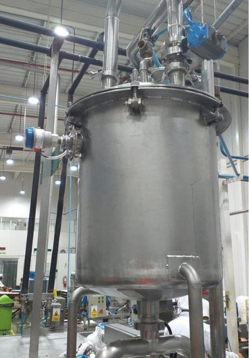Interruptor de nivel capacitivo Capanivo® CN7100 - Detector de nivel lleno, vacío o intermedio