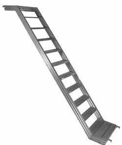 Escalera Z de Aluminio - null