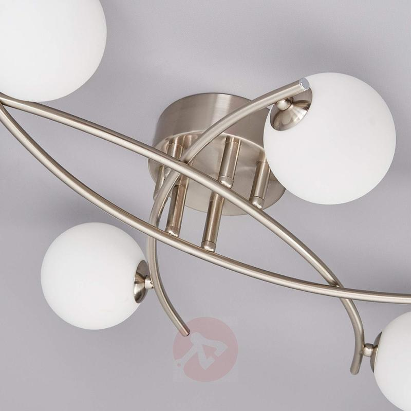 Nice ceiling light Jonara with balls made of glass - indoor-lighting