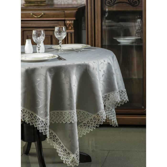 tablecloth with lace - DAFNE