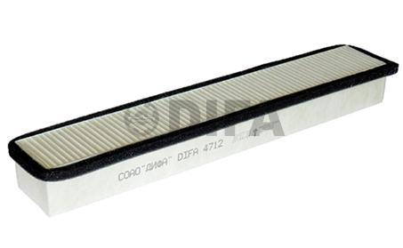 Фильтр воздушный - Фильтр  салона DIFA 4712 для экскаватора-погрузчика JCB