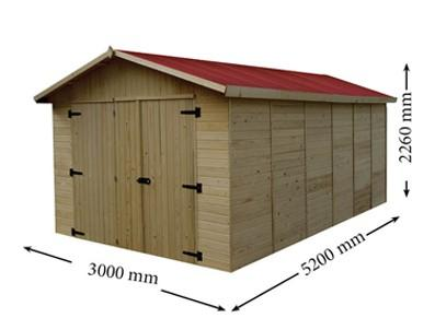 Garage bois - null