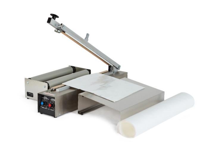 HAWO HPL 300 y 500 BMS  - Sellador térmico de mesa   selladoras de sobrecitos o bolsas