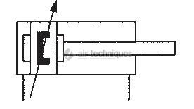 Vérin double effet norme ISO 15552 - Vérins normalisés - diamètre 100mm - XL-100