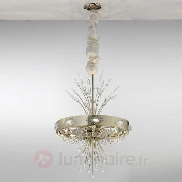 Lustre en cristal ELEGANCE - Lustres designs, de style