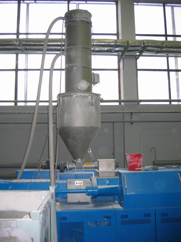 alimentateur pneumatique - transport pneumatique pour le transport de granulés et poudres sèches