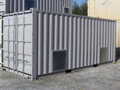 Shelter / Offshore Containers - Designed and built to accommodate systems or machinery used on board of vessels