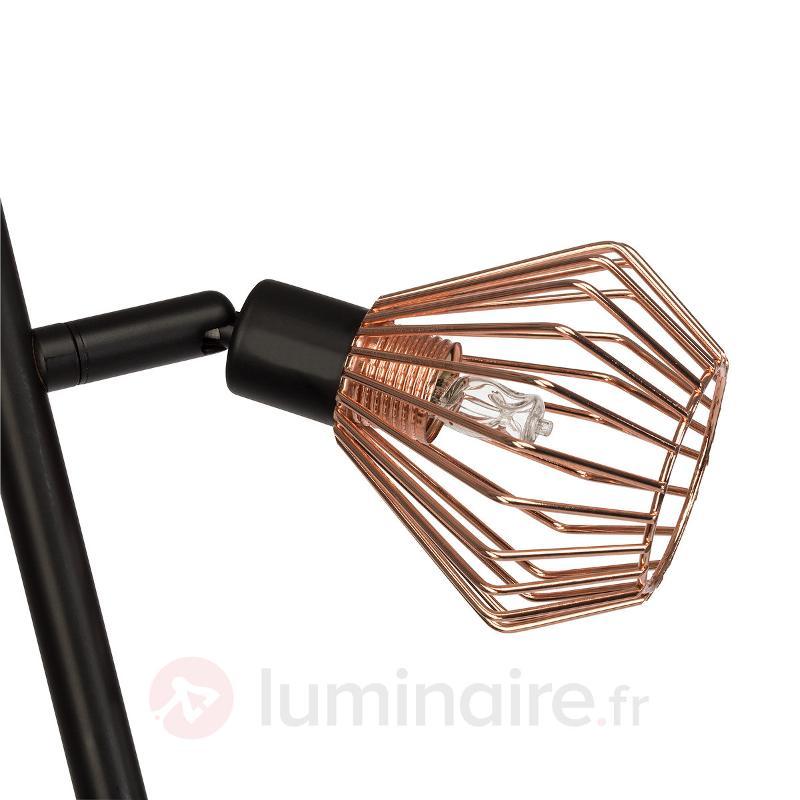 Lampadaire Dalma à 3 abat-jour en fil métallique - Tous les lampadaires
