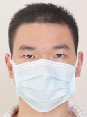 Máscara facial de la máscara Tie-on - EM-MT-1