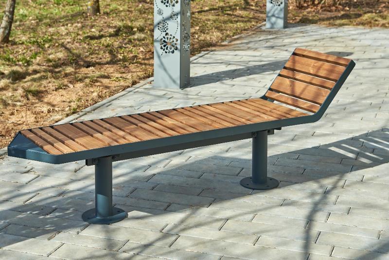 Bench «Star-3» - Outdoor