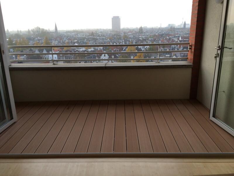Composiet balkonplanken - Kleurvast, onderhoudsarm en lichtgewicht composiet planken met een lang leven.